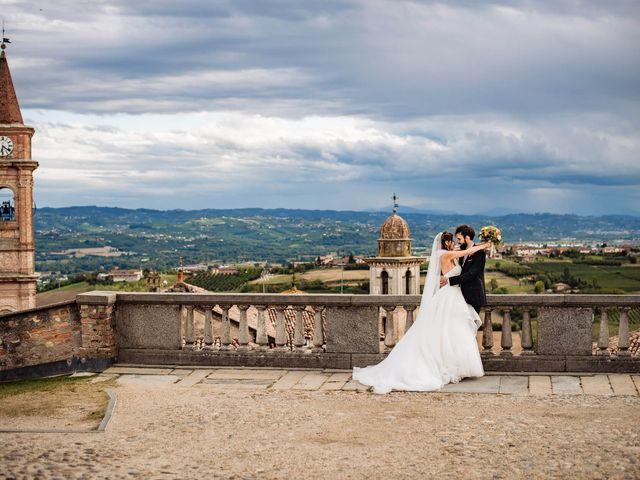Il matrimonio di Andrea e Federica a Govone, Cuneo 25