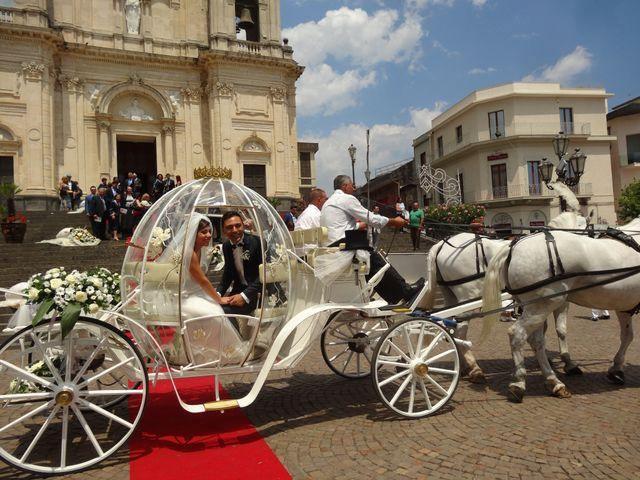 Il matrimonio di Lilian Di Salvo e Carmelo Spina a Zafferana Etnea, Catania 1
