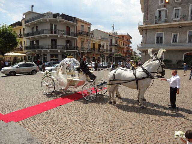 Il matrimonio di Lilian Di Salvo e Carmelo Spina a Zafferana Etnea, Catania 2