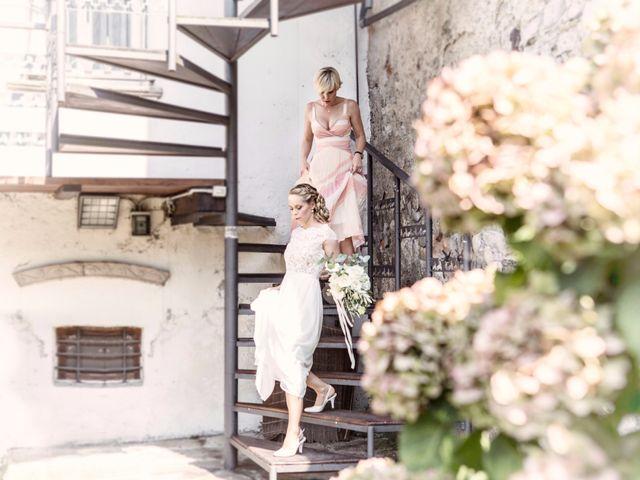 Il matrimonio di Tiziano e Marlene a Civenna, Como 19