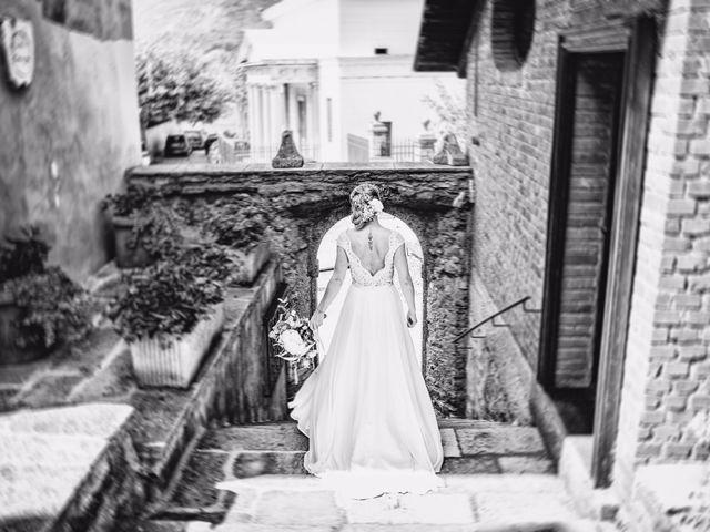 Il matrimonio di Tiziano e Marlene a Civenna, Como 25