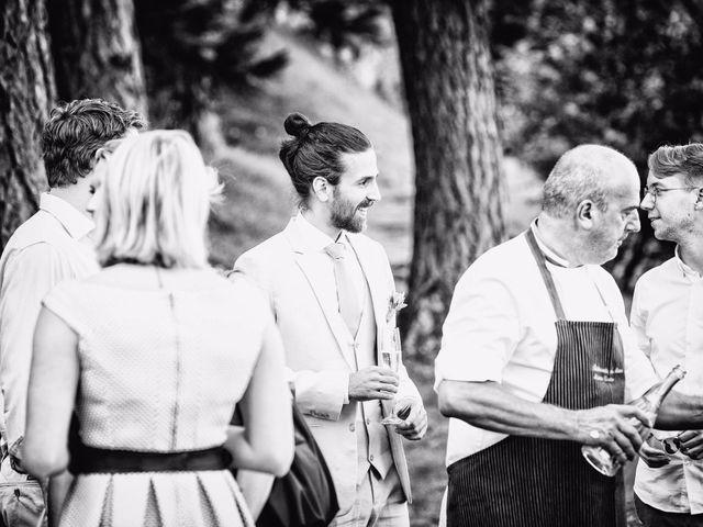 Il matrimonio di Tiziano e Marlene a Civenna, Como 33