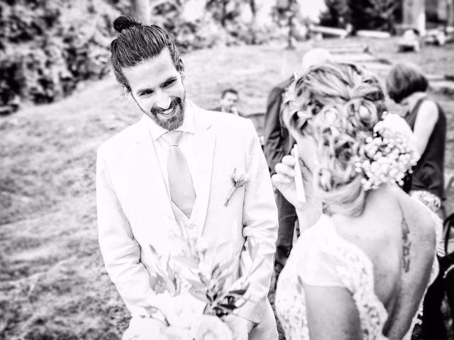 Il matrimonio di Tiziano e Marlene a Civenna, Como 37