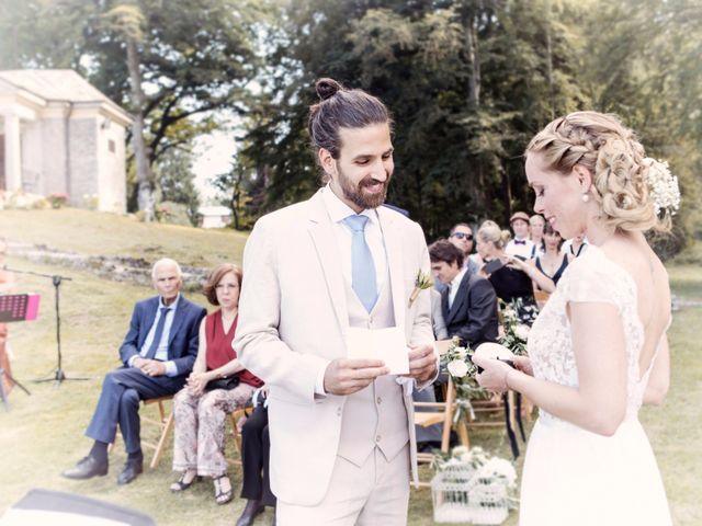 Il matrimonio di Tiziano e Marlene a Civenna, Como 41