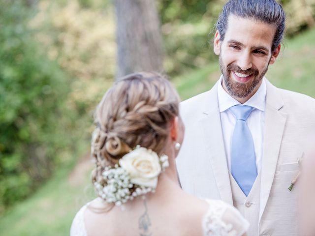 Il matrimonio di Tiziano e Marlene a Civenna, Como 42
