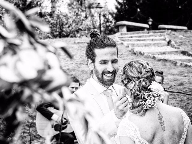 Il matrimonio di Tiziano e Marlene a Civenna, Como 45