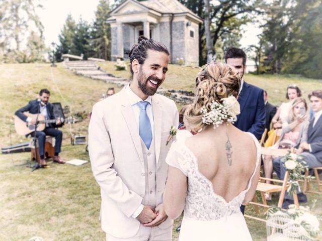 Il matrimonio di Tiziano e Marlene a Civenna, Como 46