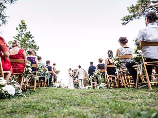 Il matrimonio di Tiziano e Marlene a Civenna, Como 47