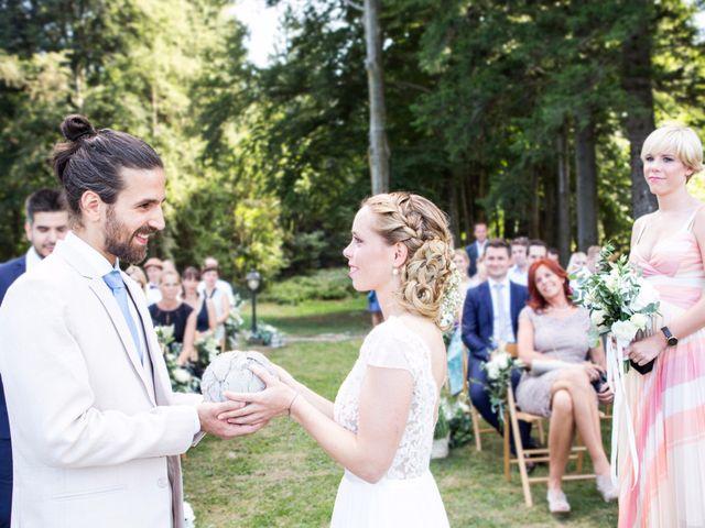 Il matrimonio di Tiziano e Marlene a Civenna, Como 48