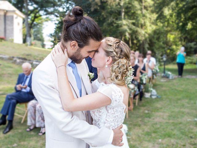 Il matrimonio di Tiziano e Marlene a Civenna, Como 49