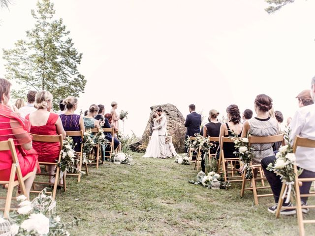 Il matrimonio di Tiziano e Marlene a Civenna, Como 51
