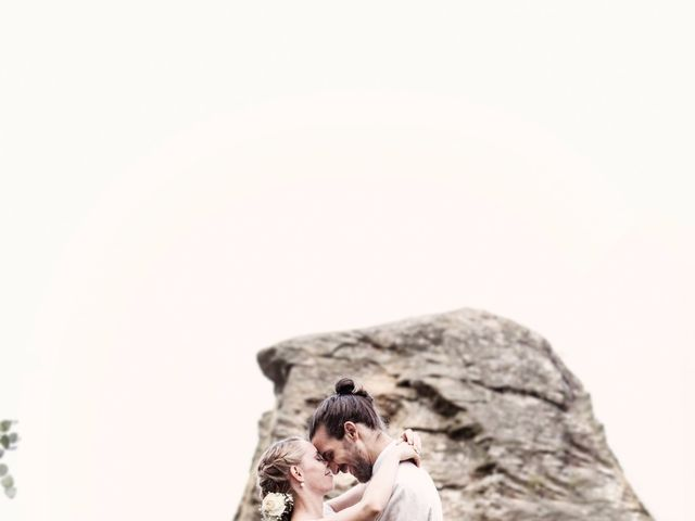 Il matrimonio di Tiziano e Marlene a Civenna, Como 52