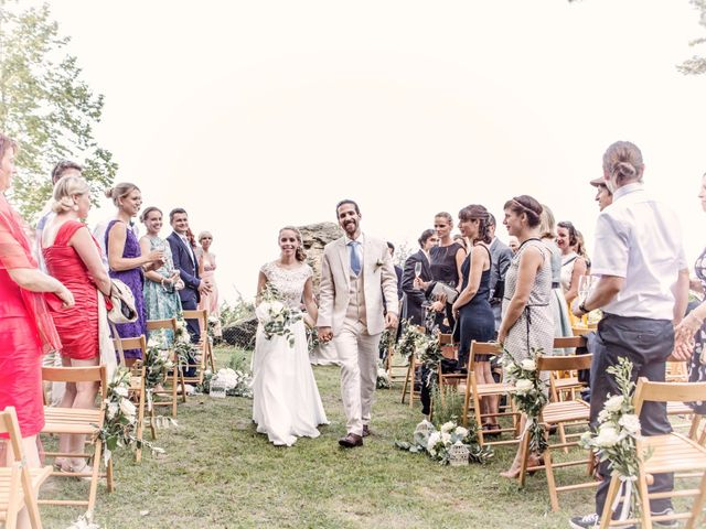 Il matrimonio di Tiziano e Marlene a Civenna, Como 53
