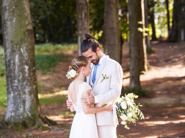 Il matrimonio di Tiziano e Marlene a Civenna, Como 54