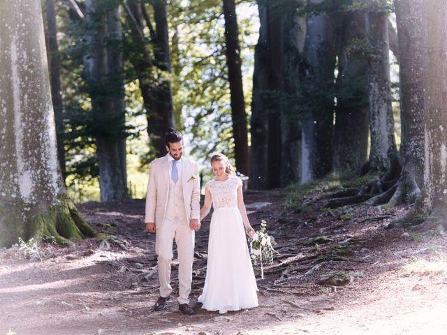 Il matrimonio di Tiziano e Marlene a Civenna, Como 55
