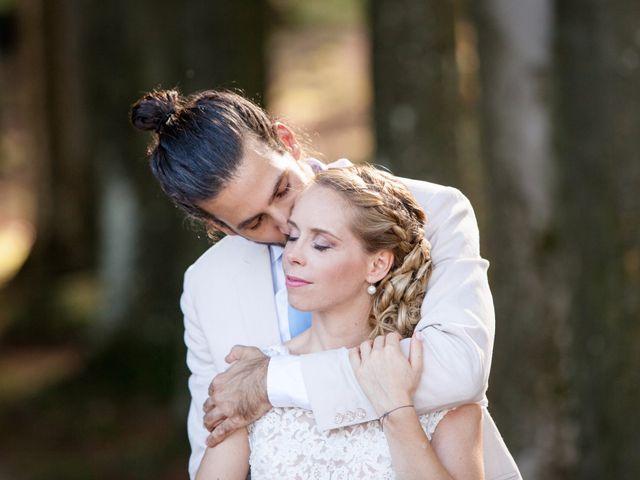 Il matrimonio di Tiziano e Marlene a Civenna, Como 58