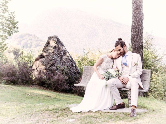 Il matrimonio di Tiziano e Marlene a Civenna, Como 73