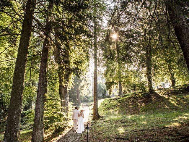 Il matrimonio di Tiziano e Marlene a Civenna, Como 76