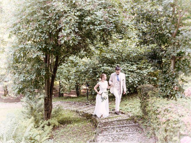 Il matrimonio di Tiziano e Marlene a Civenna, Como 80