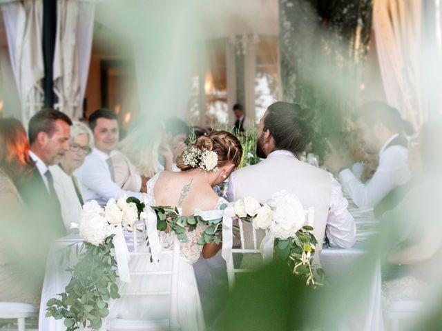 Il matrimonio di Tiziano e Marlene a Civenna, Como 88