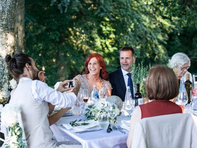 Il matrimonio di Tiziano e Marlene a Civenna, Como 89