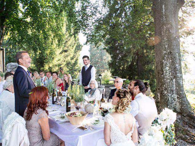 Il matrimonio di Tiziano e Marlene a Civenna, Como 90