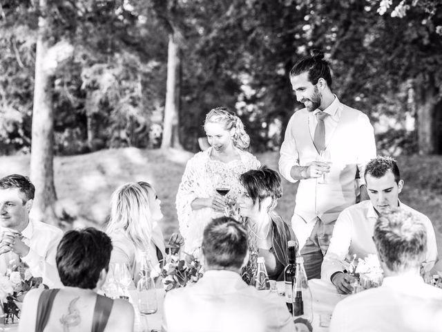 Il matrimonio di Tiziano e Marlene a Civenna, Como 91