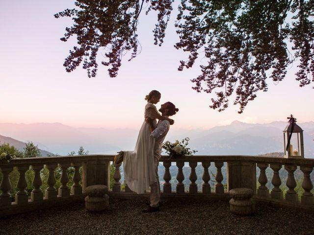 Il matrimonio di Tiziano e Marlene a Civenna, Como 93