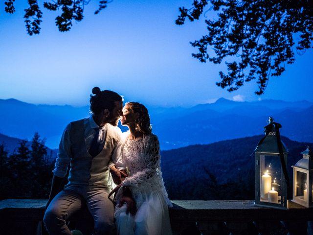 Il matrimonio di Tiziano e Marlene a Civenna, Como 95