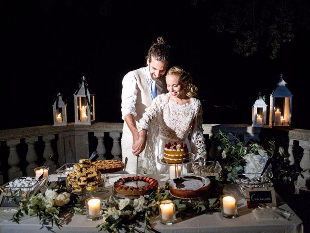 Il matrimonio di Tiziano e Marlene a Civenna, Como 97
