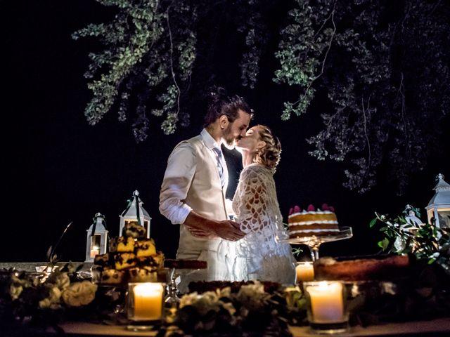 Il matrimonio di Tiziano e Marlene a Civenna, Como 98