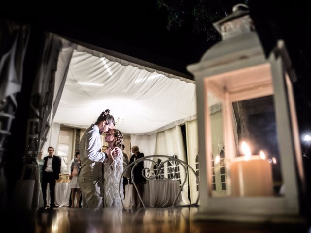 Il matrimonio di Tiziano e Marlene a Civenna, Como 99