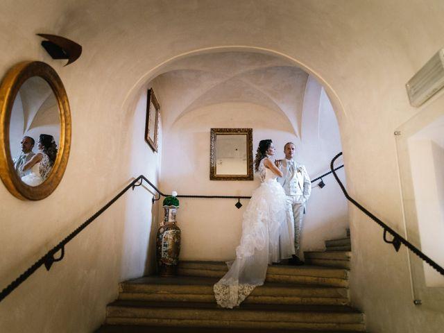 Il matrimonio di Mirko e Fabiola a Terrazzo, Verona 12