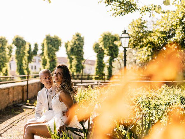 Il matrimonio di Mirko e Fabiola a Terrazzo, Verona 23