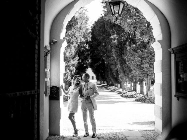 Il matrimonio di Mirko e Fabiola a Terrazzo, Verona 25