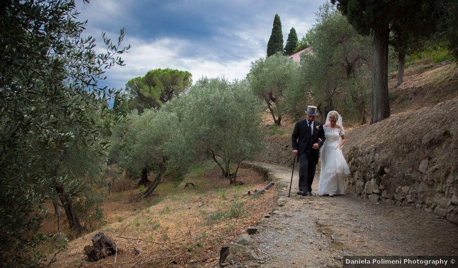 Il matrimonio di Andrea e Fanny a Sestri Levante, Genova