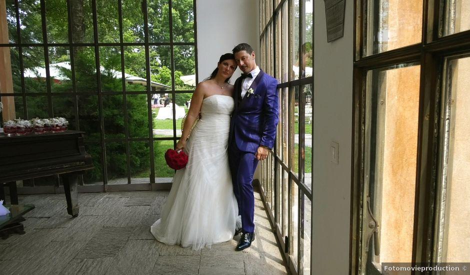 Il matrimonio di Claudio e Stefania a Tradate, Varese