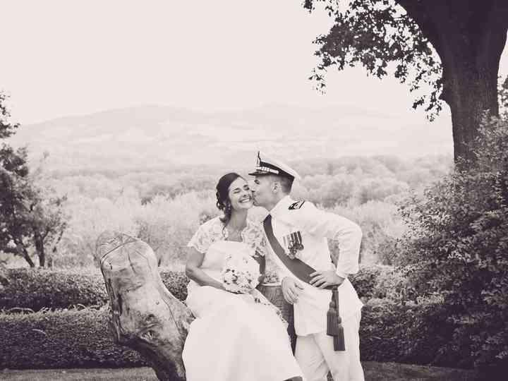 le nozze di Eva e Berardino