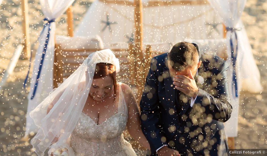 Il matrimonio di Giuseppe e Simona a Fiumicino, Roma