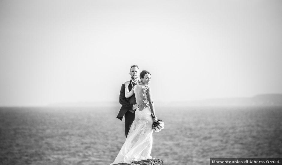 Il matrimonio di Steve e Jasmin a Portoscuso, Cagliari