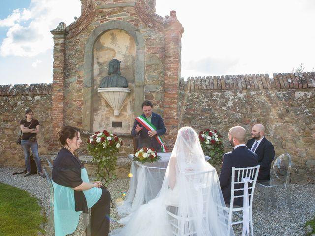 Il matrimonio di Giacomo e Jessica a Arezzo, Arezzo 35