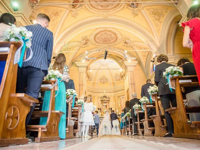 Il matrimonio di Filippo e Ester a Monte Cremasco, Cremona 11