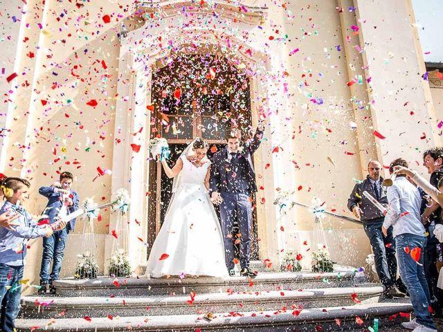 Il matrimonio di Filippo e Ester a Monte Cremasco, Cremona 16