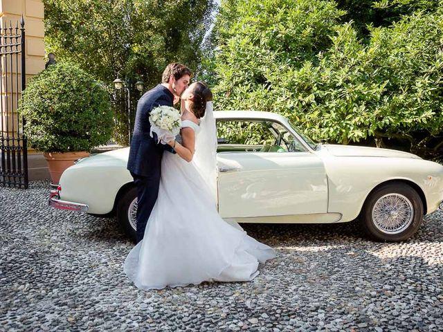 Il matrimonio di Filippo e Ester a Monte Cremasco, Cremona 19