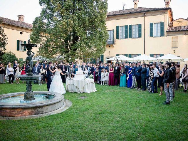 Il matrimonio di Filippo e Ester a Monte Cremasco, Cremona 32