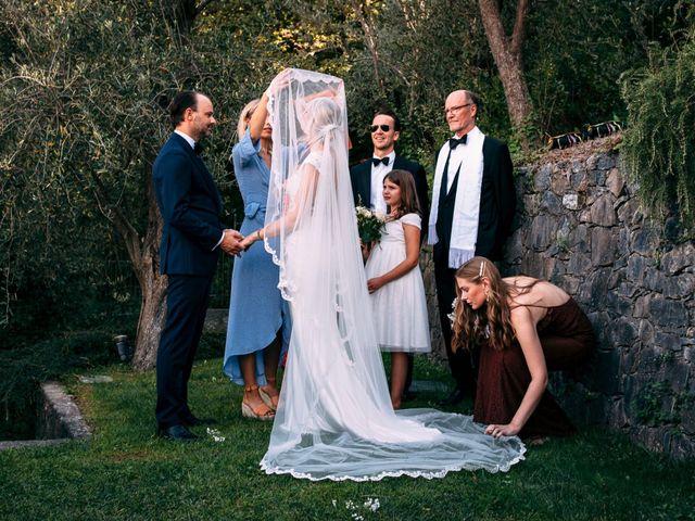 Il matrimonio di Niklas e Agnes a Alassio, Savona 35