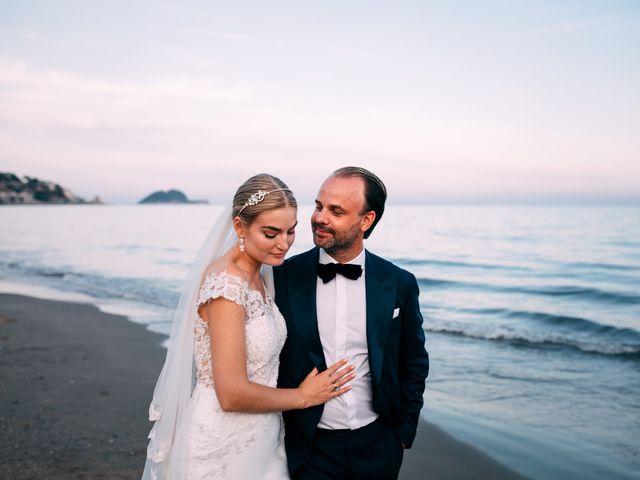 Il matrimonio di Niklas e Agnes a Alassio, Savona 1
