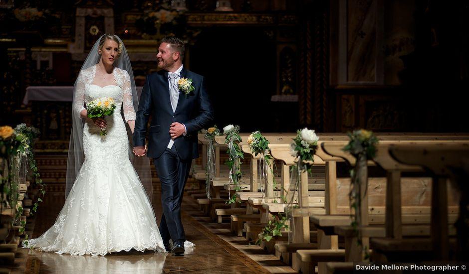 Il matrimonio di Emanuele e Sharon a Livigno, Sondrio