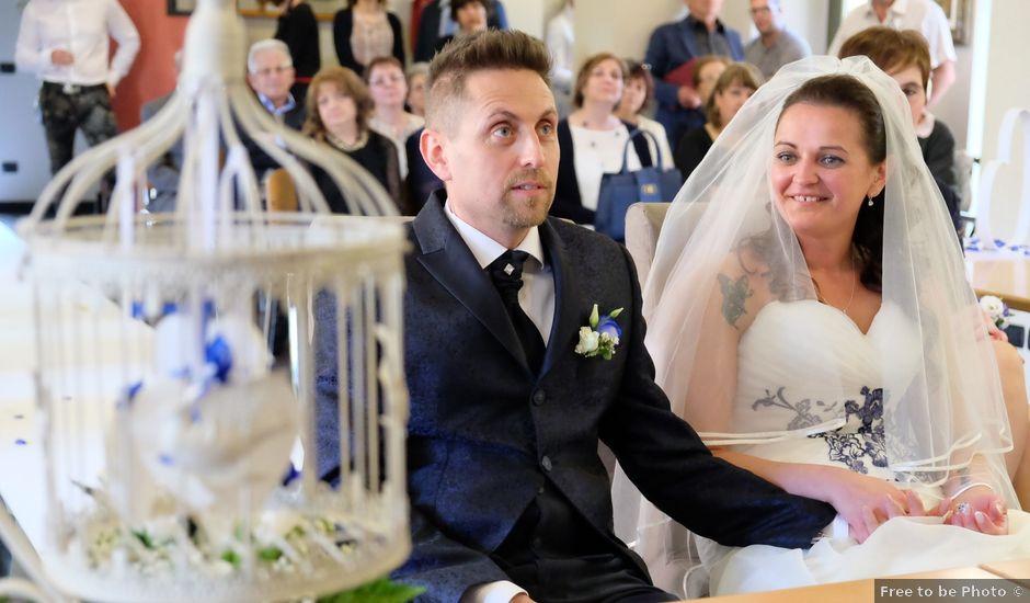 Il matrimonio di Andrea e Elisa a Trezzano Rosa, Milano