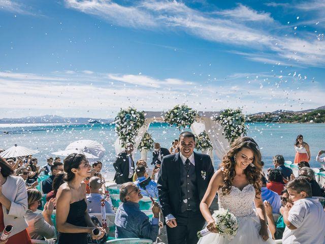 Il matrimonio di Pietro e Sabrina a Golfo Aranci, Sassari 73